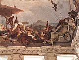 Giovanni Battista Tiepolo Apollo and the Continents [detail 3] painting